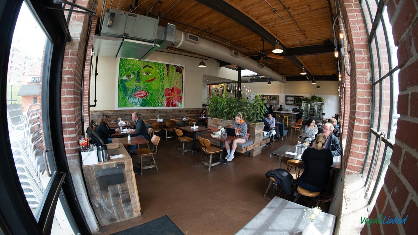 Living Kitchen South End Charlotte Veganlinked